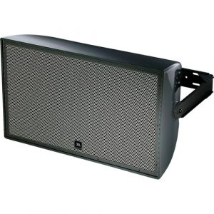 """JBL AW595 High Power 2-Way All-Weather Loudspeaker with 15"""" LF and Rotatable Horn (Black)"""