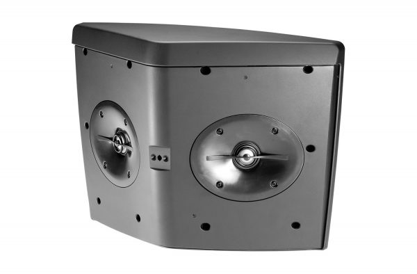 """Wide-Coverage Speaker with 5-1/4"""" LF, Dual Tweeters and HST Technology"""