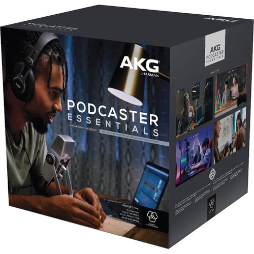 AKG Podcaster Essentials Lyra USB Microphone and AKG K371 HeadphonesAKG Podcaster Essentials Lyra USB Microphone and AKG K371 HeadphonesAKG Podcaster Essentials Lyra USB Microphone and AKG K371 Headphones