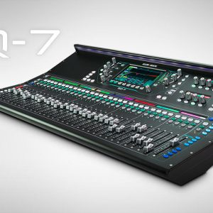 Allen & Heath AH-SQ-7 33 Fader 48 Channel 32 Onboard Preamp 96kHz Digital Mixing Console